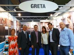 Посол Украины в Германии, Андрей Мельник посетил стенд компании GRETA.