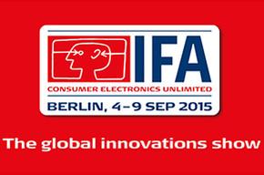 IFA 2015, добро пожаловать!